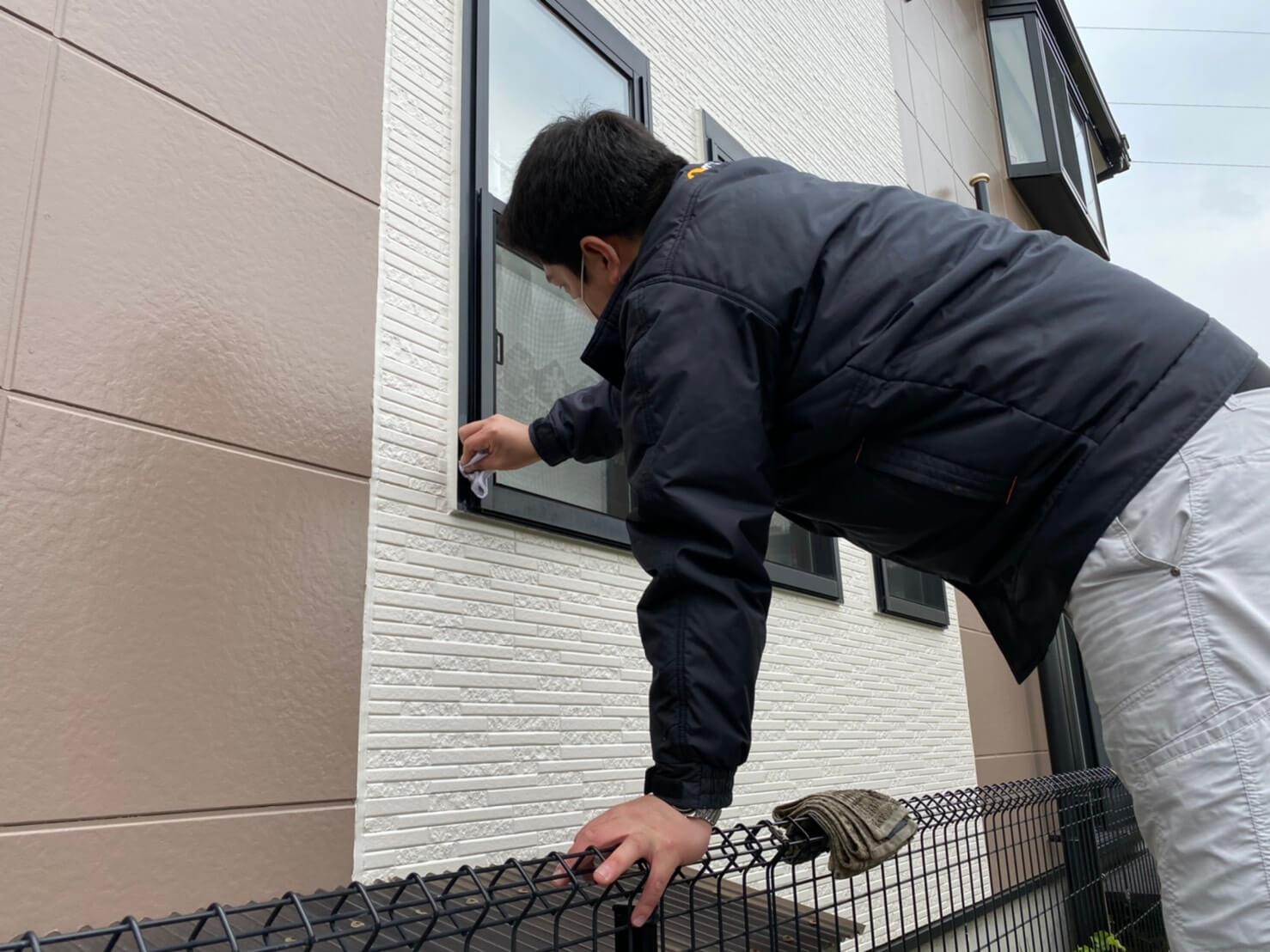 地域密着の外壁塗装工事(草加市)|最終確認