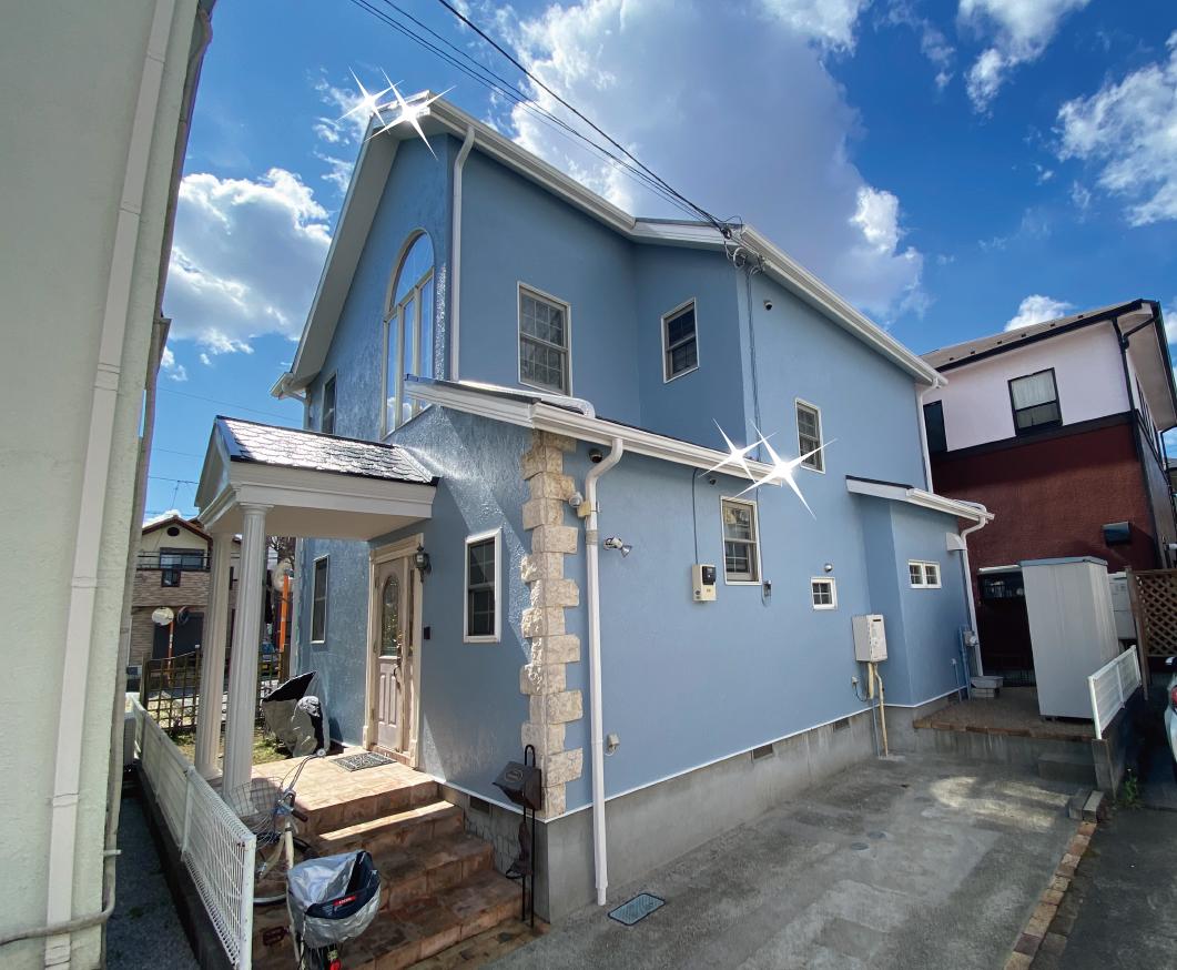 草加市 外壁塗装・屋根塗装 I様邸